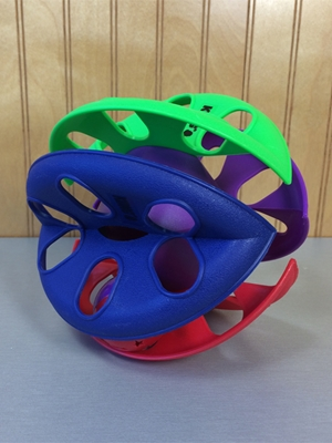 Criss-Cross Roller Toy
