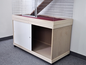 Bunny Abodes Tall Base Cabinet