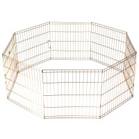 Black Exercise Pen 36 inch tall